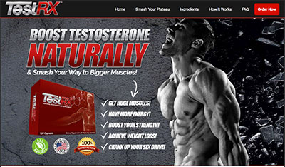 Test RX Testosterone Supplement