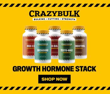 Crazybulk growth stack
