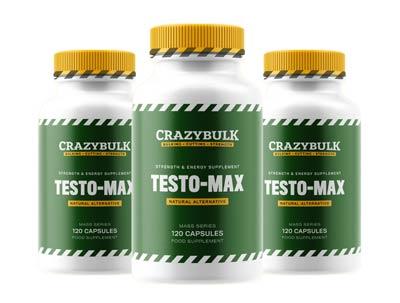 Testo-Max testosterone booster